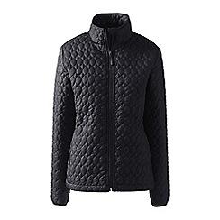 Lands' End - Black tall primaloft packable jacket