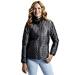 Lands' End - Grey women's primaloft packable jacket  shimmer