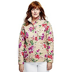 Lands' End - Multi plus patterned primaloft packable jacket
