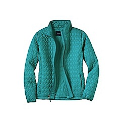 Lands' End - Blue women's primaloft packable jacket