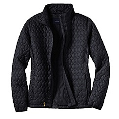 Lands' End - Black plus primaloft packable jacket