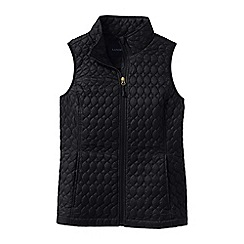 Lands' End - Black women's primaloft packable gilet