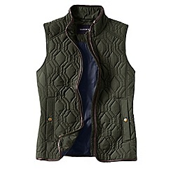 Lands' End - Green quilted primaloft gilet