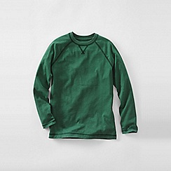 Lands' End - Green little boys' raglan tee