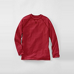 Lands' End - Red little boys' raglan tee