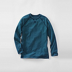 Lands' End - Blue boys' raglan tee