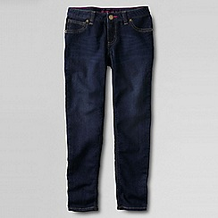Lands' End - Blue little girls' indigo! jegging