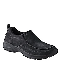 Lands' End - Black men's everyday moccasins