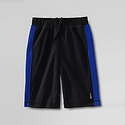 Lands' End - Black little boys' mesh shorts