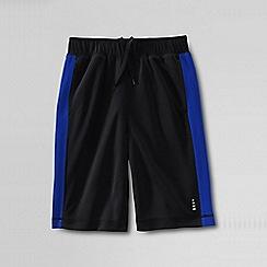 Lands' End - Black mesh shorts