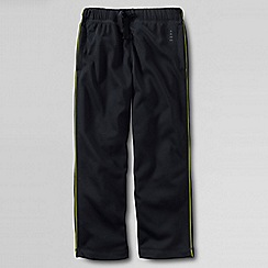 Lands' End - Black little boys' tricot tracksuit bottoms
