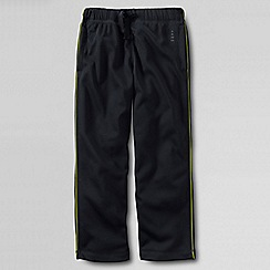 Lands' End - Black boys' tricot tracksuit bottoms