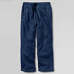 Lands' End - Blue boys' tricot tracksuit bottoms