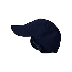 Lands' End - Blue men's squall cap