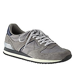 Lands' End - Grey men's retro trainers