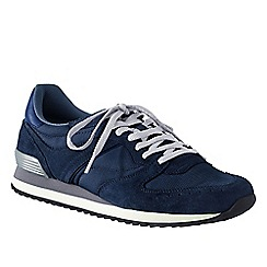 Lands' End - Blue men's retro trainers
