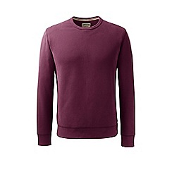 Lands' End - Red serious sweats crew neck sweatshirt
