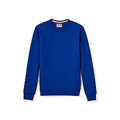 Lands' End - Blue serious sweats crew neck sweatshirt