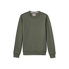 Lands' End - Green serious sweats crew neck sweatshirt
