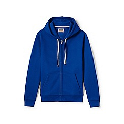 Lands' End - Blue serious sweats hooded zip jacket