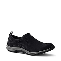Lands' End - Black women's everyday mocs light