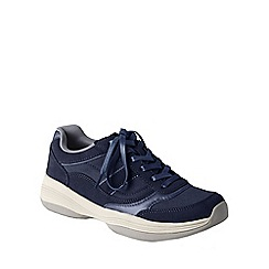 Lands' End - Blue women's sporty casual comfort shoes