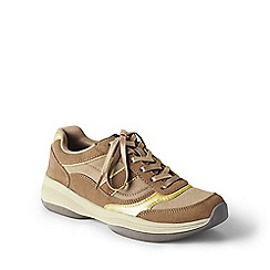 Lands' End - Beige  sporty casual comfort shoes