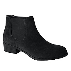 Lands' End - Black women's blakeley chelsea boots