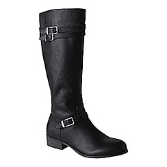 Lands' End - Black women's blakeley riding boots