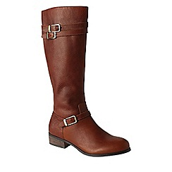 Lands' End - Brown women's blakeley riding boots