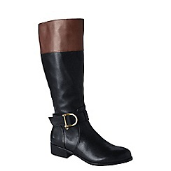 Lands' End - Black women's blakeley classic riding boots