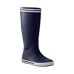 Lands' End - Blue women's rain boots