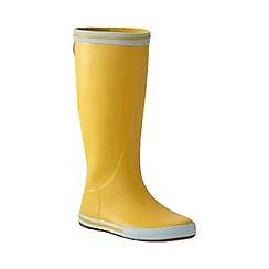 Lands' End - Yellow women's rain boots