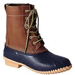 Lands' End - Blue women's duck boots