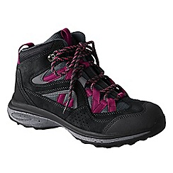 Lands' End - Grey women's trekker hiking boots