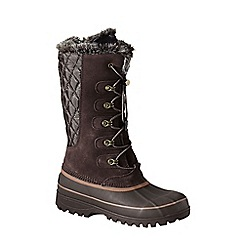 Lands' End - Brown hillary tall snow boots