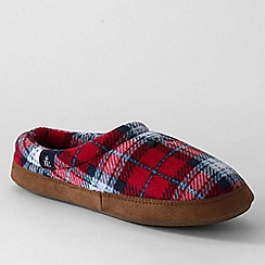 Lands' End - Red women's fleece clog slippers