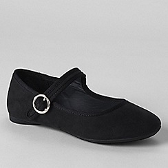 Lands' End - Black girls' mary jane shoes