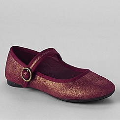 Lands' End - Red mary jane shoes