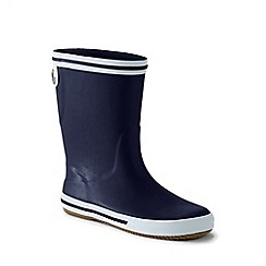 Lands' End - Blue kids' wellies