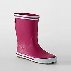 Lands' End - Pink kids' wellies