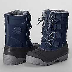 Lands' End - Blue kids' expedition boots
