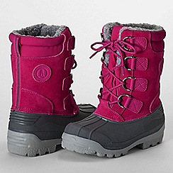 Lands' End - Pink kids' expedition boots