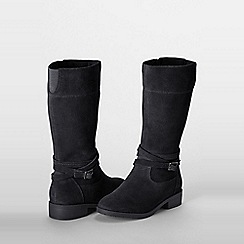 Lands' End - Black molly riding boots
