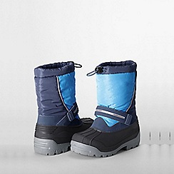 Lands' End - Blue kids' snow plough boots