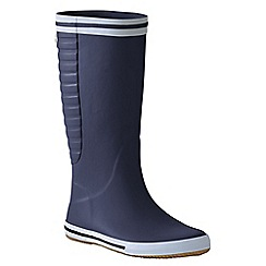 Lands' End - Blue men's rain boots