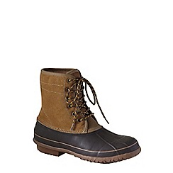 Lands' End - Beige men's duck boots