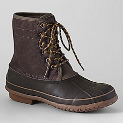 Lands' End - Brown duck boots