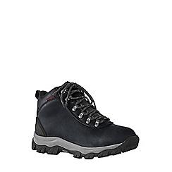 Lands' End - Black men's waterproof snow hiker boots