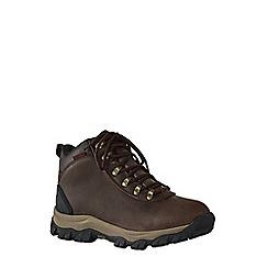 Lands' End - Brown men's waterproof snow hiker boots